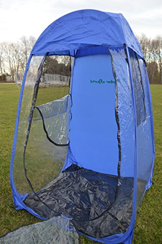 Weather Proof Personal Sport Pod Pop Up Tent Blue